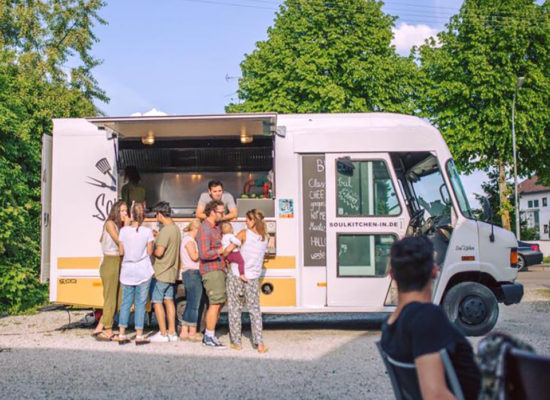 Foodtruck in Aktion
